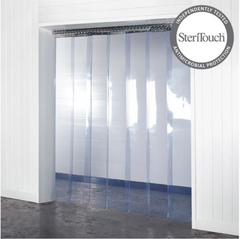 anti-microbial pvc strip curtains