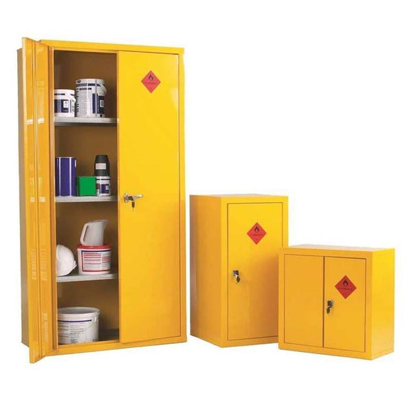 Heavy Duty Hazardous Substance Storage Cupboards