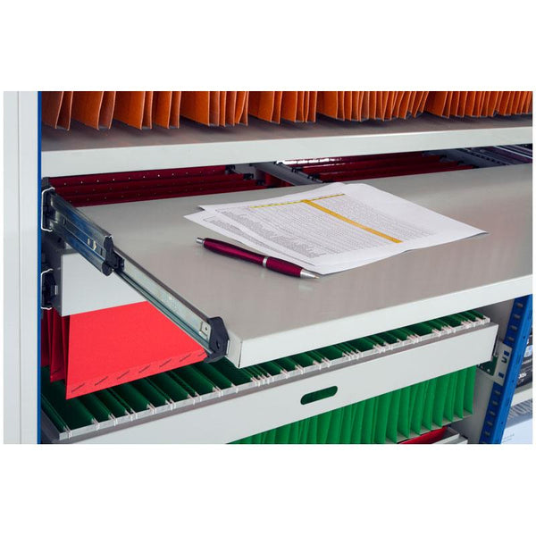 Expo 4 Boltless Shelving Roll Out Reference Shelf