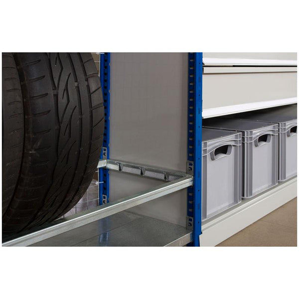 Expo 4 Boltless Shelving Tyre Rack