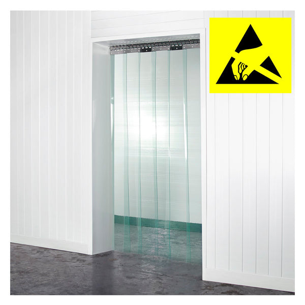 Anti-Static PVC Curtains Kit 200mm x 2mm