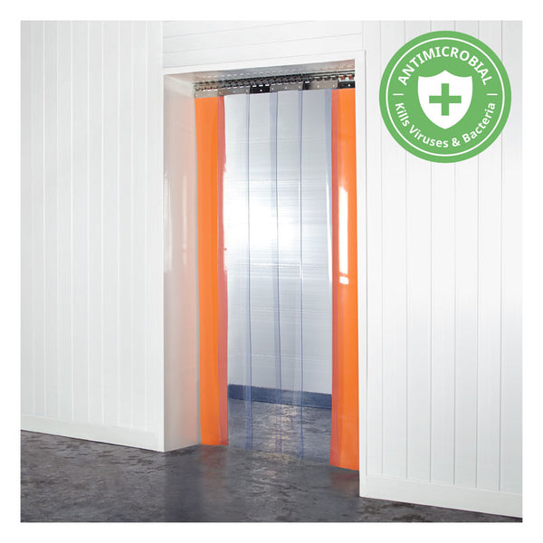 Antimicrobial PVC Curtains Kit 200mm x 2mm