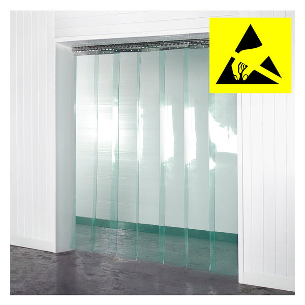 Anti-Static PVC Curtains Kit 300mm x 3mm