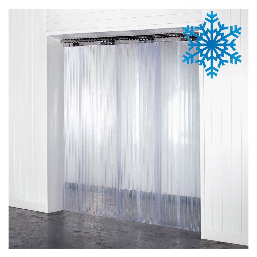 Thick Double Ribbed Plastic Strips For Doorway Curtains