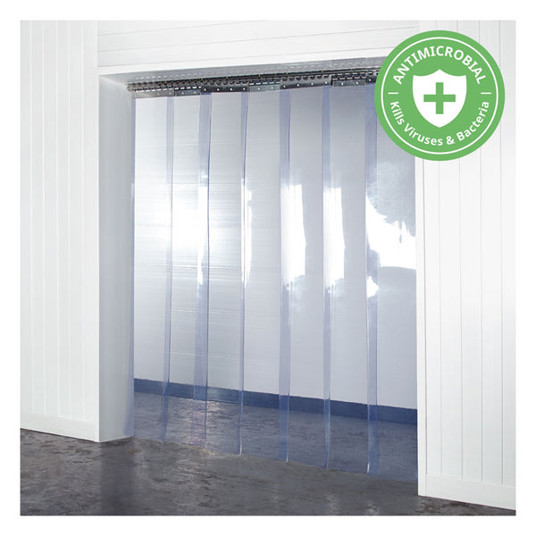 Antimicrobial PVC Curtains Kit 300mm x 2mm