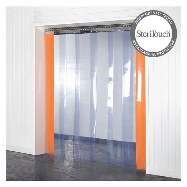 Antimicrobial PVC Curtains Kit 400mm x 4mm