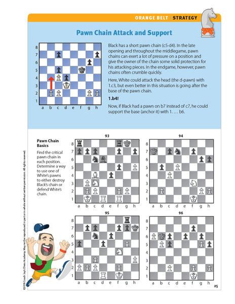 Orange Belt Chess Puzzle Pack