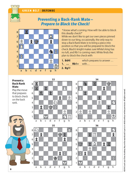 Green Belt Chess Puzzle Pack