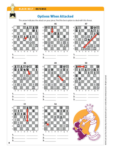 Black Belt Chess Puzzle Pack