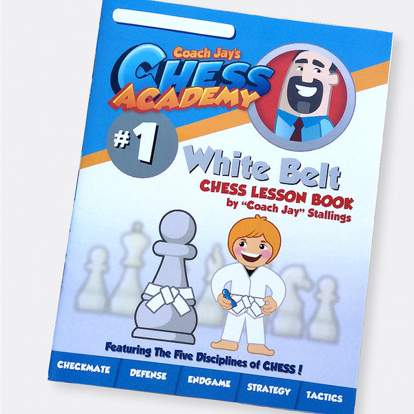White Belt Chess Lesson Book