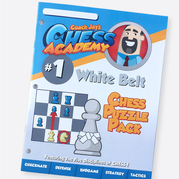 White Belt Level 1 Set (Lesson Book & Puzzle Pack)