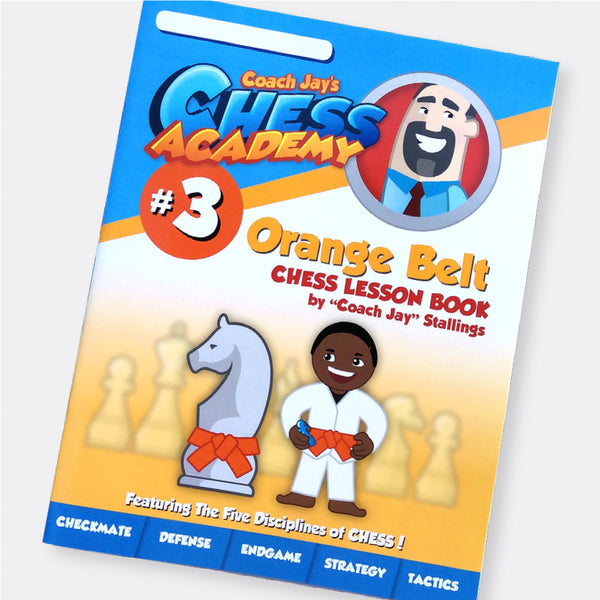 Orange Belt Chess Lesson Book