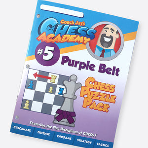Purple Belt Chess Puzzle Pack