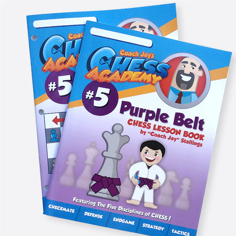 Purple Belt Level 5 Set (Lesson Book & Puzzle Pack)