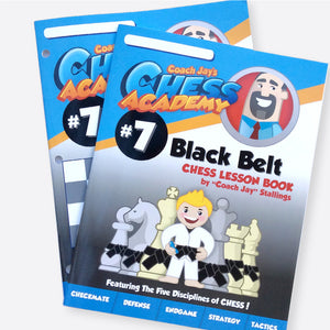 Black Belt Level 7 Set (Lesson Book & Puzzle Pack)
