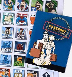 Bulk Pricing for Coaches/Clubs - Chess Passport and Sticker Set