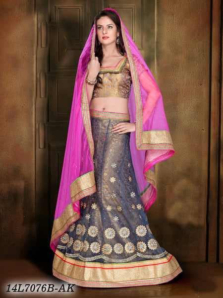 Image result for grey brocade lehenga