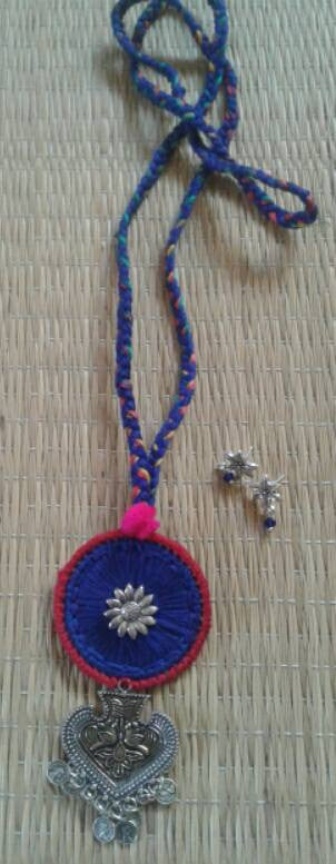 Blue Handcrafted Necklaces