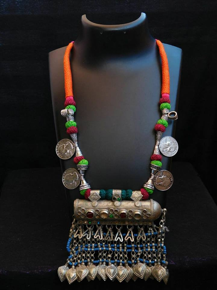 Multicoloured 4 Afgani Jewellery