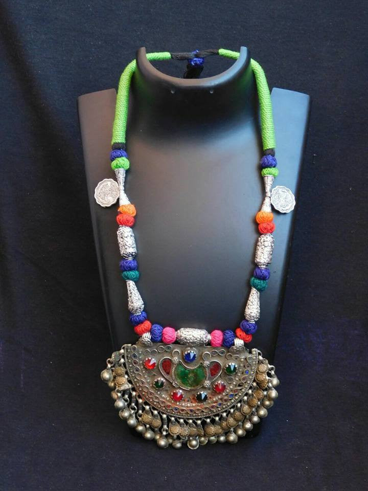 Multicoloured 7 Afgani Jewellery