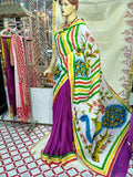 Purple Moklin Sarees