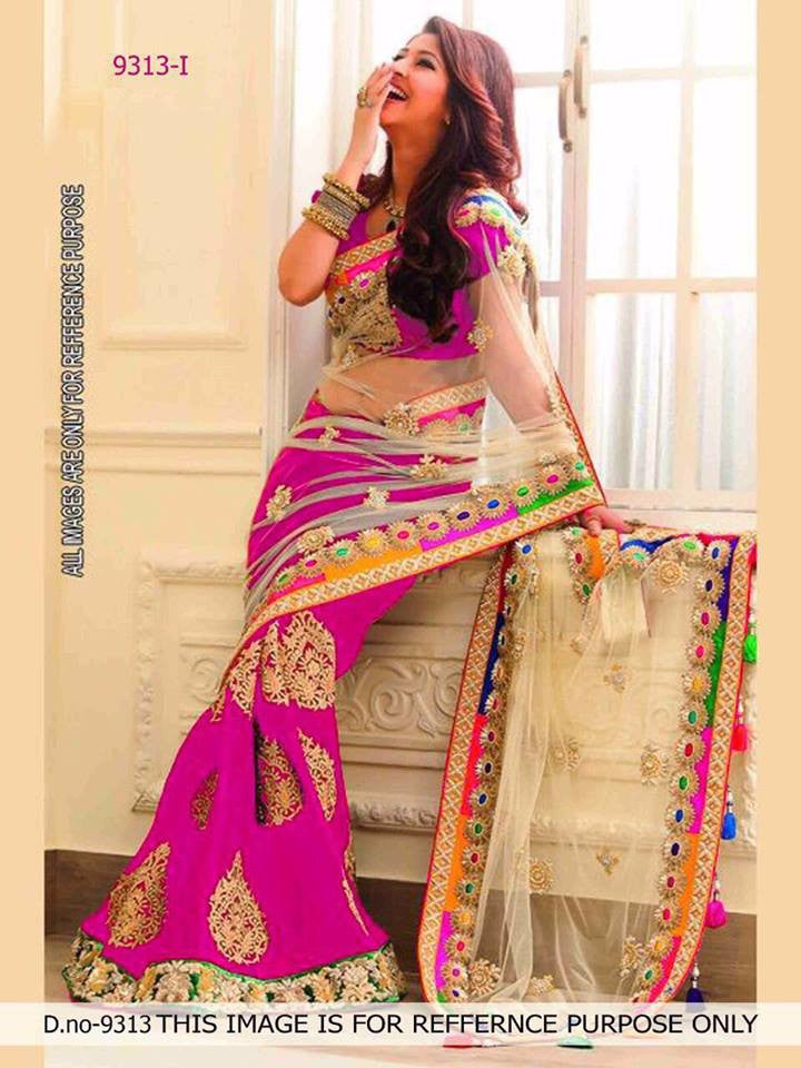 Georgette Party Wear Sarees