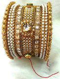 Golden white stone3 Bracelet