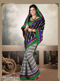 Green & Black Banarasi Silk Sarees