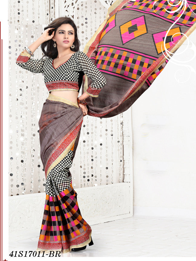 Multi Colour2 Banarasi Silk Sarees