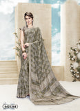 Beige Crepe Sarees (Add to Cart Get 15% Extra Discount)
