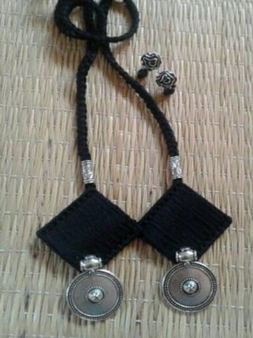 Black Handcrafted Necklaces