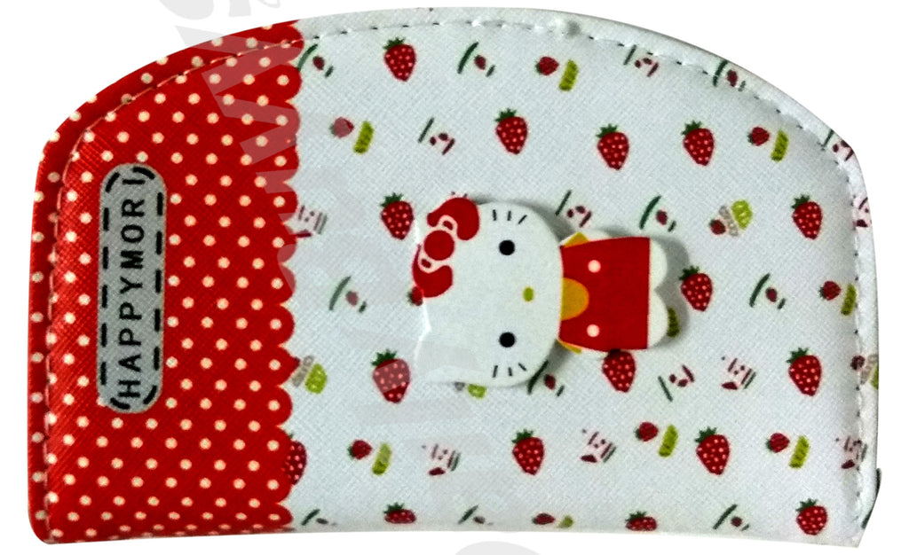 Cute white and red ladies Wallet