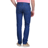 Men's Non-Stretchable Blue Jeans