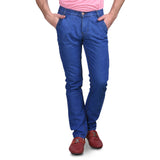 Men's Non-Stretchable Light Blue Jeans