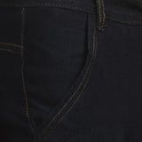 Men's Non-Stretchable Black Jeans