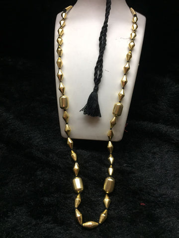 Dholki Long 3 Necklace