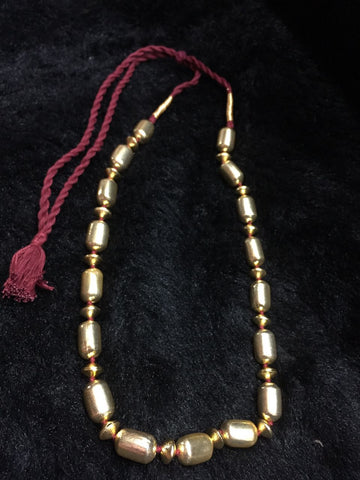 Dholki Long 9 Necklace