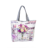 Charms Cant Resist  Printed Cotton Totes