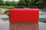 Red Heart Clutches