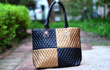 Brown Royal Check Totes