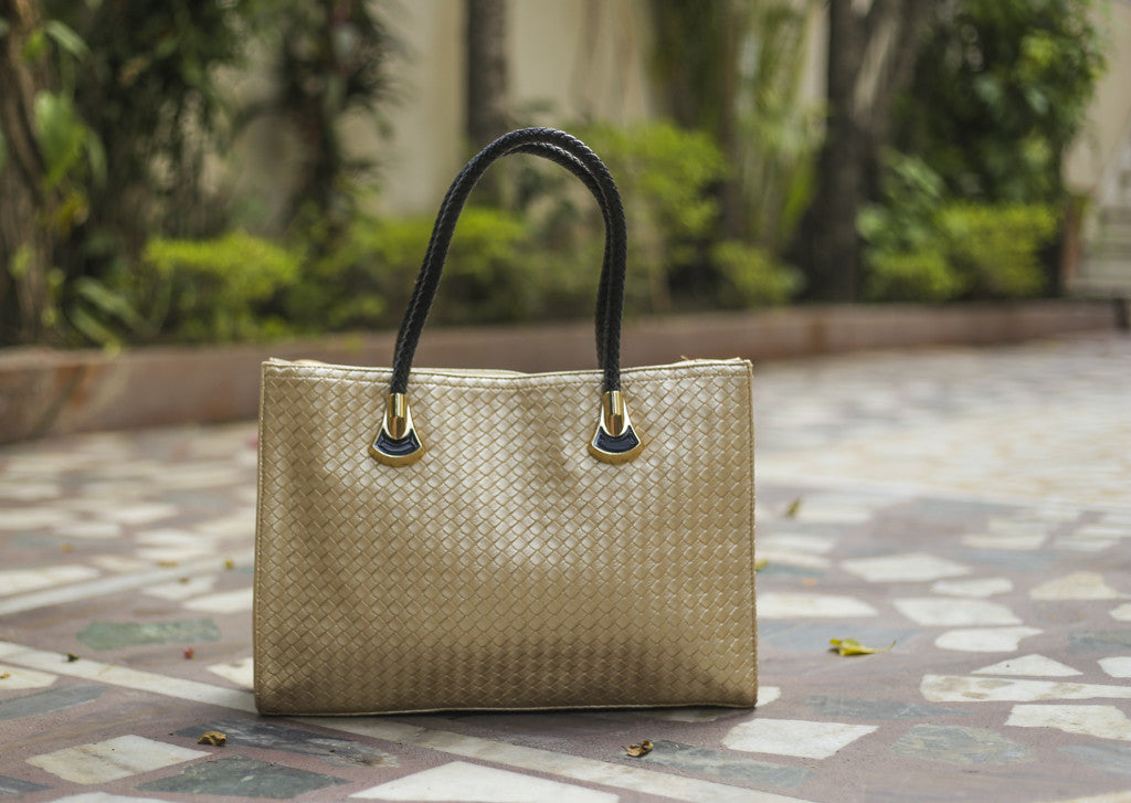 Golden Checkered Totes