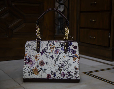 Black Floral Sling - R Hand Bags