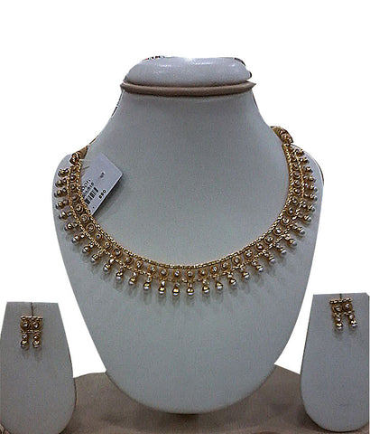 Beautiful Golden pearl2 necklace