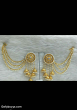 Golden pearl Earrings