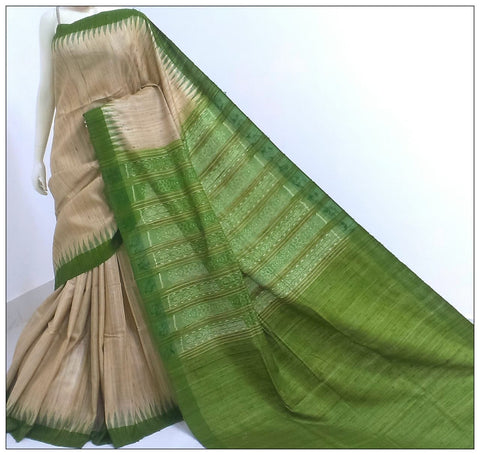 Pink Cream Crepe Sarees (Add to Cart Get 15% Extra Discount)