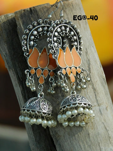 New Silver Designer Earrings