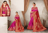 Pink Party Wear Sarees