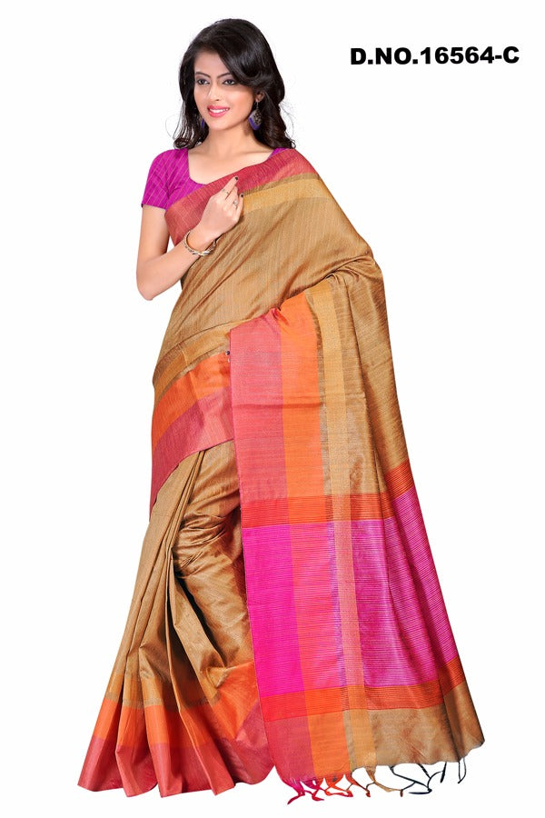 Grey Raw Silk Sarees