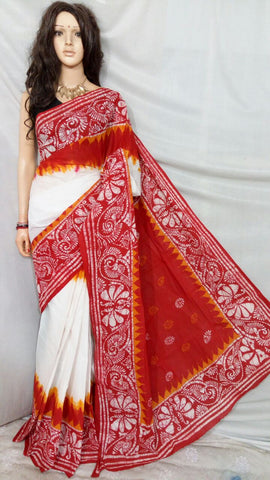 Red White Boutique Special Sarees