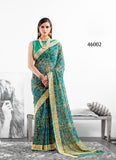 Green Designer Party Wear Sarees